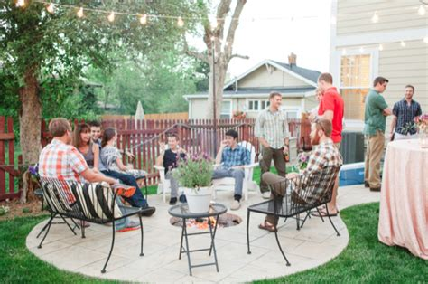 Backyard Engagement by Picture Of Beaurtiful And Backyard Engagement To