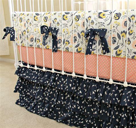 Handmade Baby Bedding Sets Custom Baby Bedding Crib Set Navy And Baby Bedding