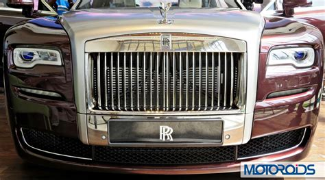 2015 rolls royce ghost series ii india launch grille 15