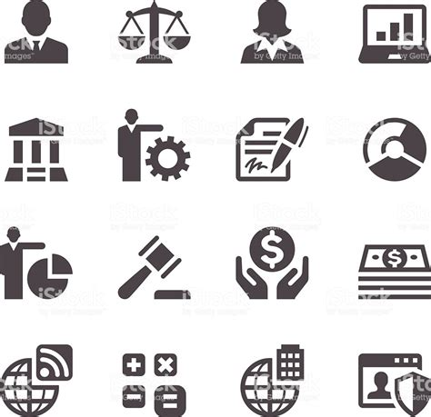 Business Icons Stock Vector 521312358 Istock Business Icons Stock Vector More Images Of 514345249 Istock