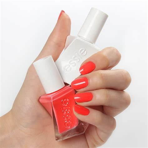 sizzling hot essie gel couture sizzling hot gel couture lacke essie