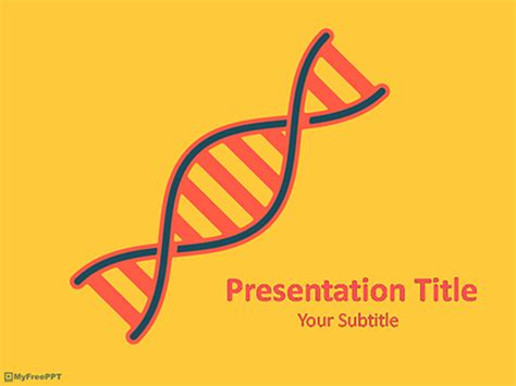 ppt templates free download genetics free dna analysis powerpoint template download free