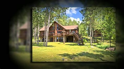 Northern Wi Cabins For Sale by Becherer Drive Northern Wisconsin Log Home For Sale 458358