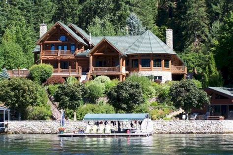 hayden lake waterfront home for sale hayden lake