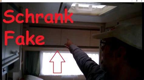 wohnwagen renovieren innenausbau wohnwagen schrank