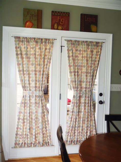 what is curtain in french choose the right window treatment to make your french door