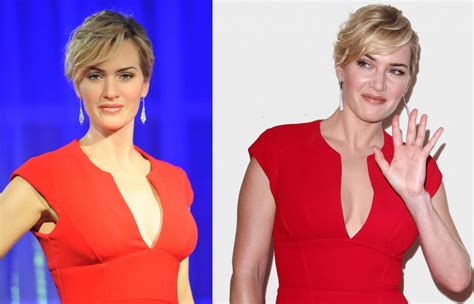 Wax Kate Unveiled by Kate Winslet S Waxwork Is Unveiled At Madame Tussauds