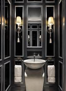 black and white bathroom decor ideas 19 almost black bathroom design ideas digsdigs