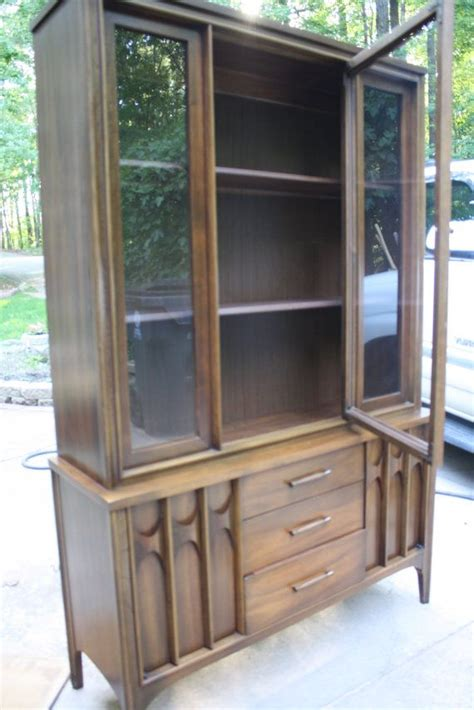 mid century modern quot perspecta quot china hutch by kent coffey 1963 kent coffey quot perspecta
