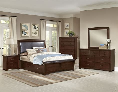 bassett bedroom furniture vaughan bassett transitions cherry bb68 bedroom