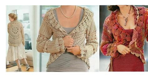 chaleco redondo crochet patron a chaleco redondo a crochet para mujer crochet paso a paso