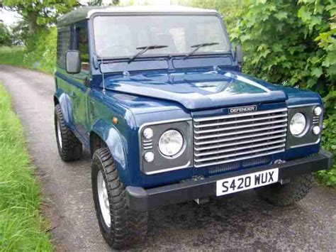 land rover defender 90 td5 galvanised chassis car for sale