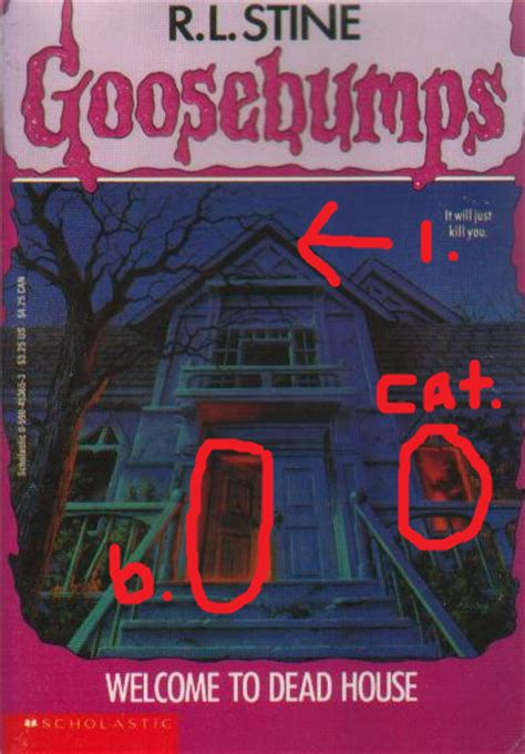 goosebumps welcome to dead house goosebumps 001 welcome to dead house or yay death