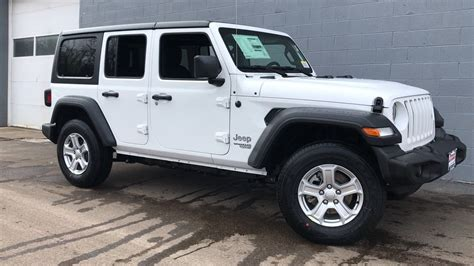 New Jeep Wrangler Sport X 3 0 At new 2018 jeep wrangler unlimited sport s sport utility in