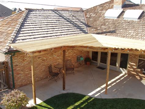 Roof Extension Patio Cover Ideas   House Plans   #73342
