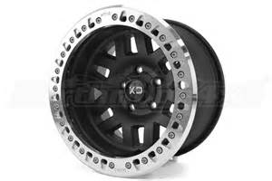 Black Beadlock Truck Wheels Kmc Wheels Xd229 Machete Beadlock Satin Black Wheel 17x9
