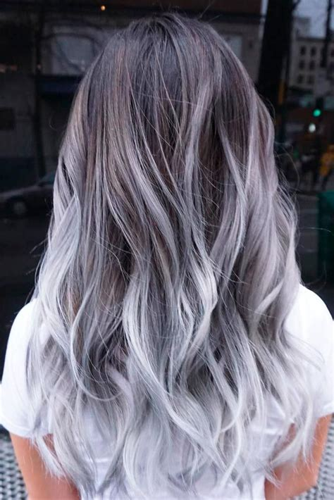 hairstyles with grey ombre the 25 best grey ombre hair ideas on pinterest black