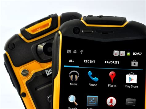 rugged cell phones 2014 nyx n1 3 5 inch rugged android phone water resistant shockproof dust proof yellow tzv