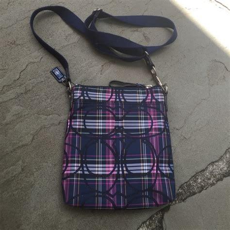 Plaid Crossbody Bag 65 coach handbags coach tartan plaid crossbody
