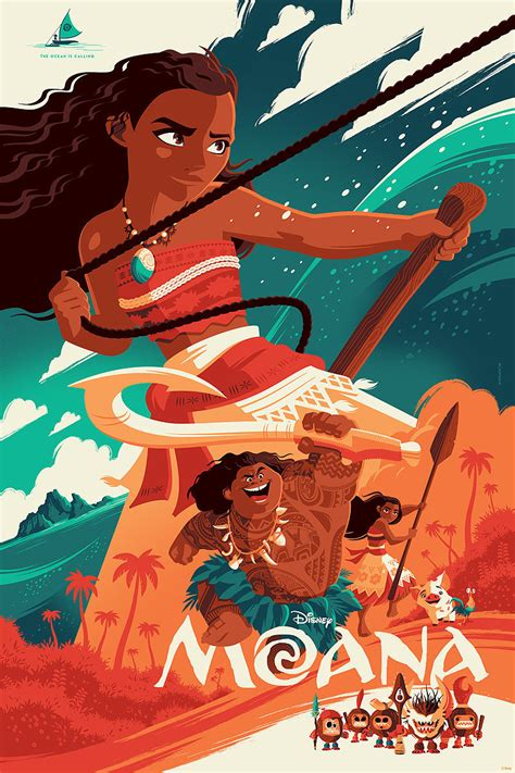 film animation moana you re welcome to covet this gorgeous poster for disney s