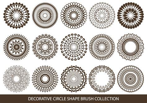 Chape Decorative by Decorative Circle Shape Brushes Free Photoshop Brushes