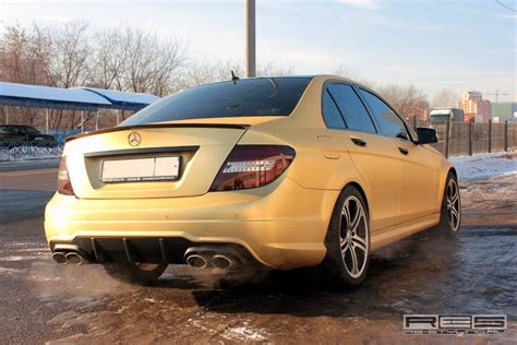 mercedes benz  amg carbon gold benztuning