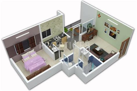 540 sq ft floor plan 540 sq ft 1 bhk 1t apartment for sale in kalki developers