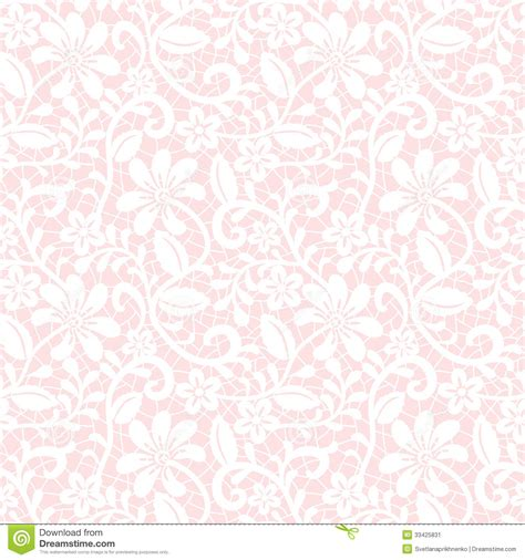 flower pattern on white background floral lace pattern stock vector image of pattern