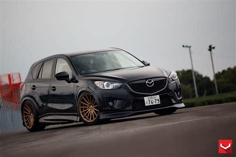 Auto Tuning Mazda 5 by Mazda Cx 5 Tuning Vossen Wheels 15 Avtovesti