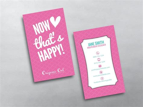Business Card Origami - origami owl business cards free shipping