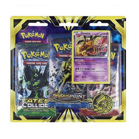 card packs giratina 3 pack blister 3 booster packs promo