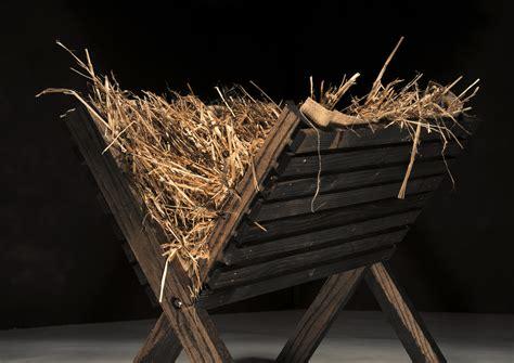 in the manger church custodian finds wailing baby boy in nativity manger