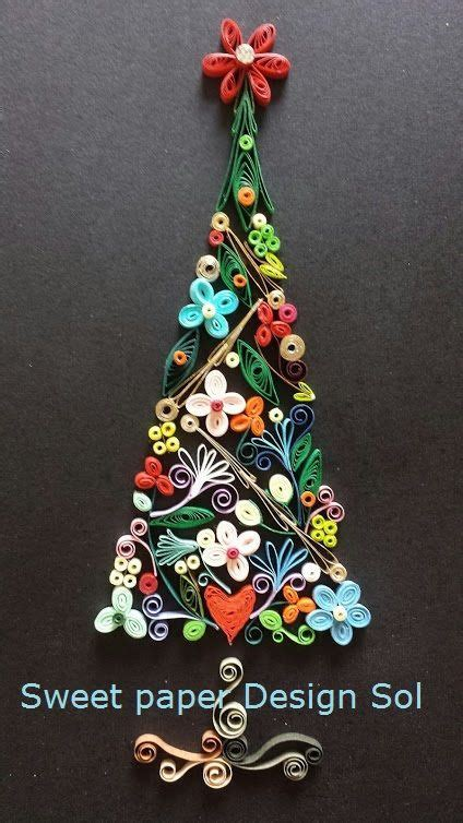 paper quilling christmas tree tutorial image result for peanuts lucy quilling alternative
