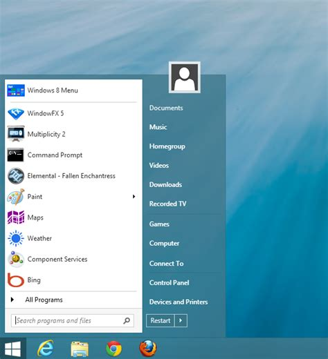 themes for windows 8 1 start menu start button devs say windows 8 1 doesn t put them out