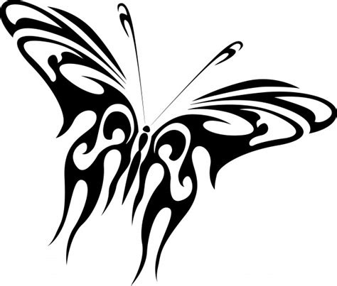 drawing of a black butterfly free stock photo public