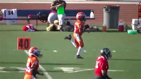 roosevelt mustangs football 1 of 3 td s eastvale mustangs vs moreno valley micros