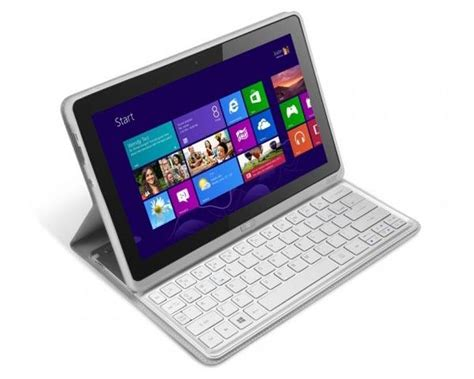 Acer 10 Inch Tablet Windows 8 acer iconia w700p windows 8 tablet gadgetsin