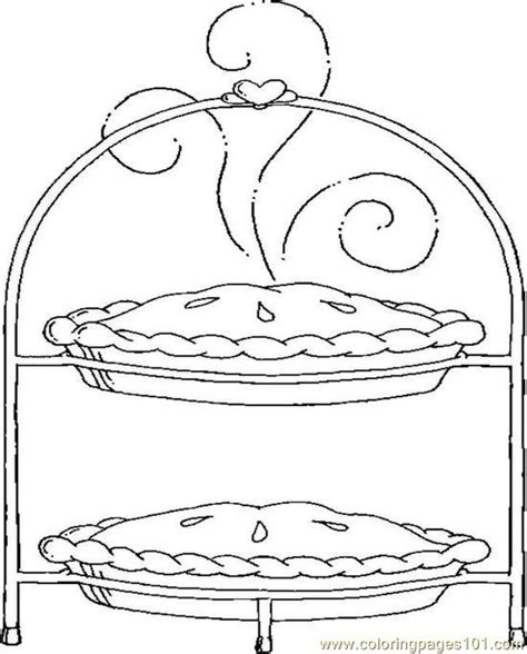 Pie Coloring Pages Pie Coloring Page