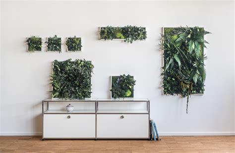 Bild Mit Echten Pflanzen by Garten Im Quadrat Stylegreen Pflanzenbild Aus Moos Und