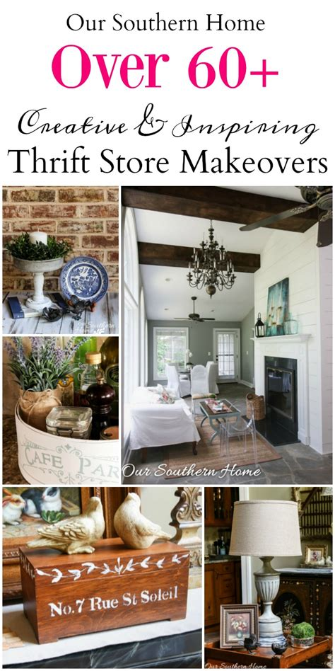 thrifty home decor makeovers  southern home