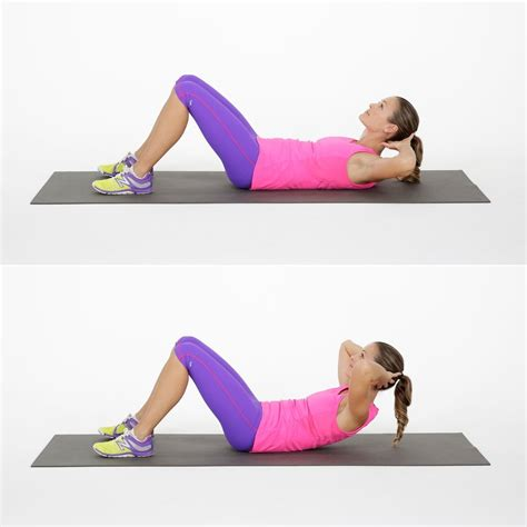 beginner ab workout popsugar fitness australia