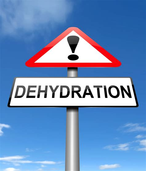 dehydration signs 10 signs of dehydration weightwise