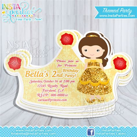 Sofia The Birthday Invitation Card
