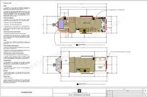 Cabin House Plans plan tiny house bohemian tiny house france