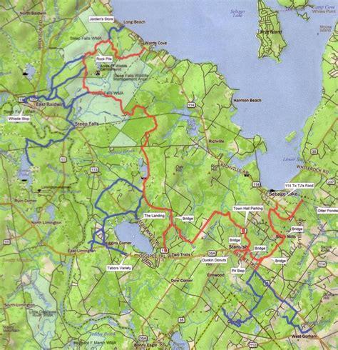atv trails maps maine atv dirtbike trail maps 187 untamed mainer