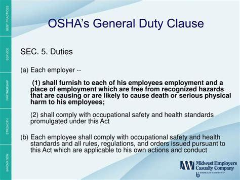 osha section 5 a 1 section 5 a 1 of the osh act dbxkurdistan com