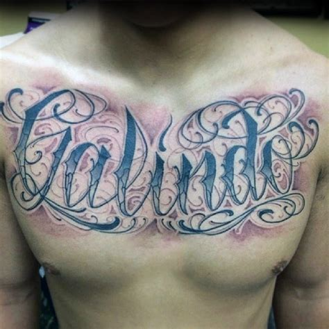 chest name tattoos the gallery for gt name designs on chest