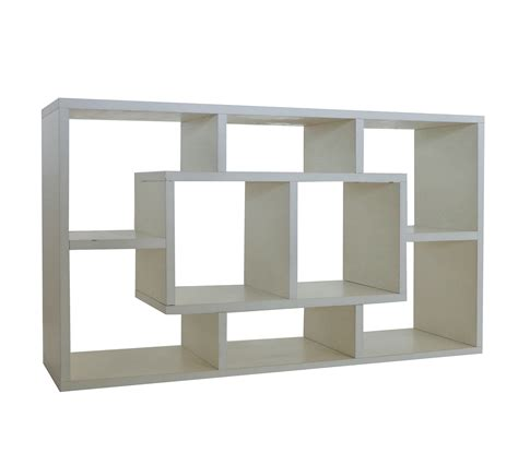storage unit shelves foxhunter white wood decor shelf display storage unit