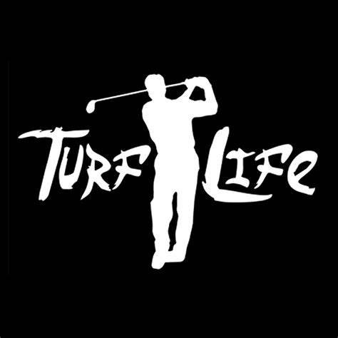 swinges life style turf life swinger decal turf life