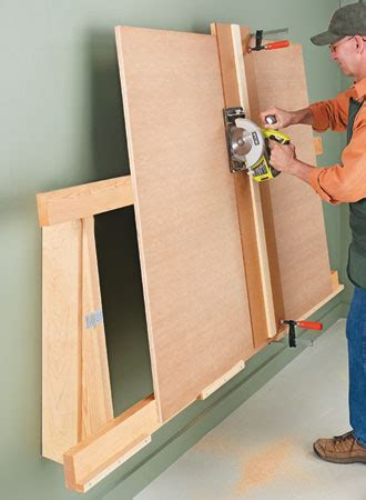 Low Profile Cutting Rack   Woodsmith Plans